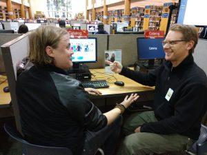 Library Ryan Bogarin and Zaach Stewart-Glazer