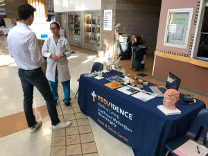 Providence Medical Group Lazio and student