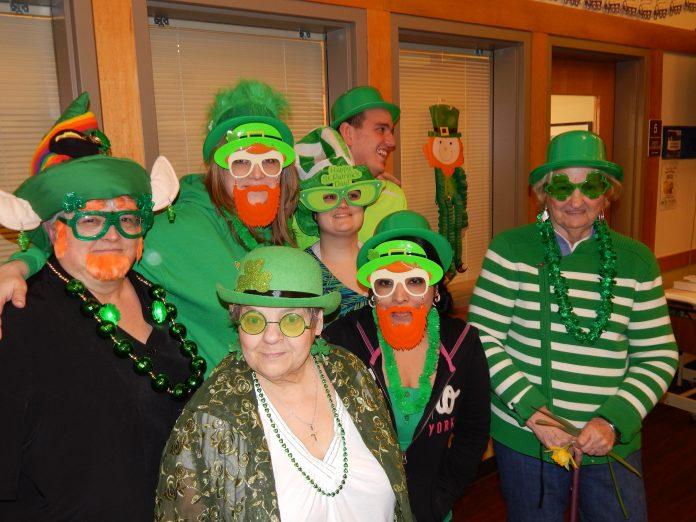 Senior Services St Patricks Day BINGO