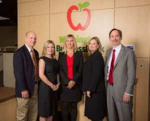 Washington Business Bank Management team