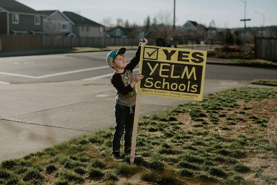 Yelm Community Schools yes vote
