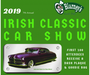 Irish Classic Car Show @ O'Blarney's Irish Pub