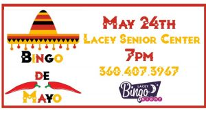 Bingo de Mayo at Lacey Senior Center @ Lacey Senior Center