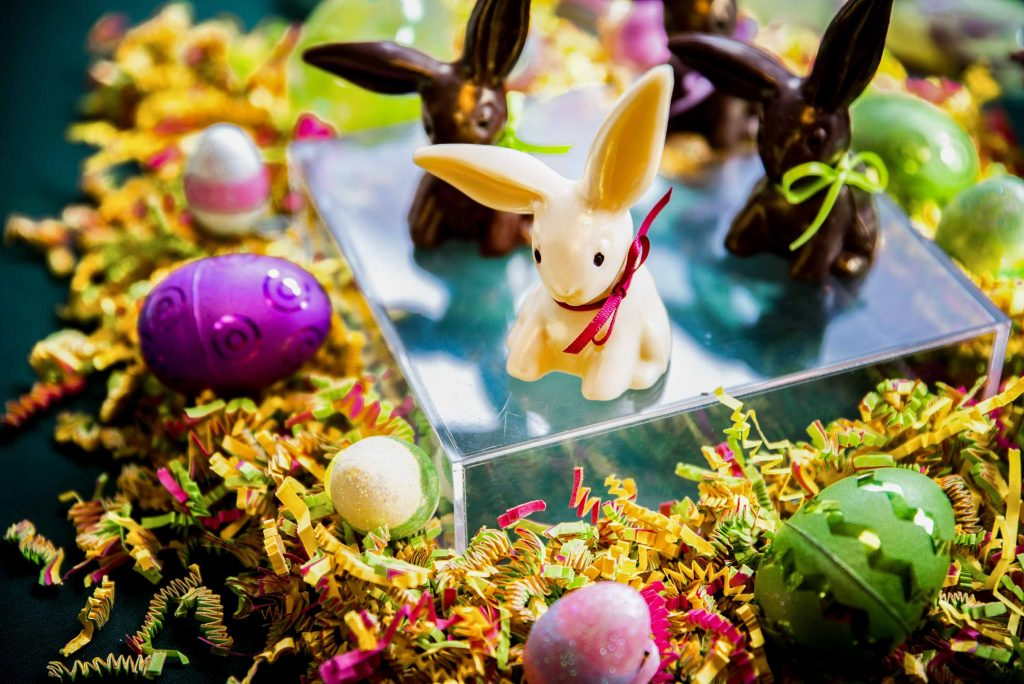 Bittersweet Chocolates Easter and Spring Chocolates and Events White Chocolate Bunny