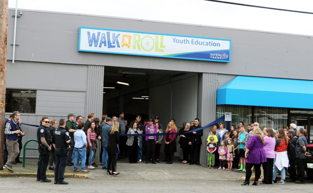 Intercity Transit Center Walk N Roll Youth Center Opens Coming Together