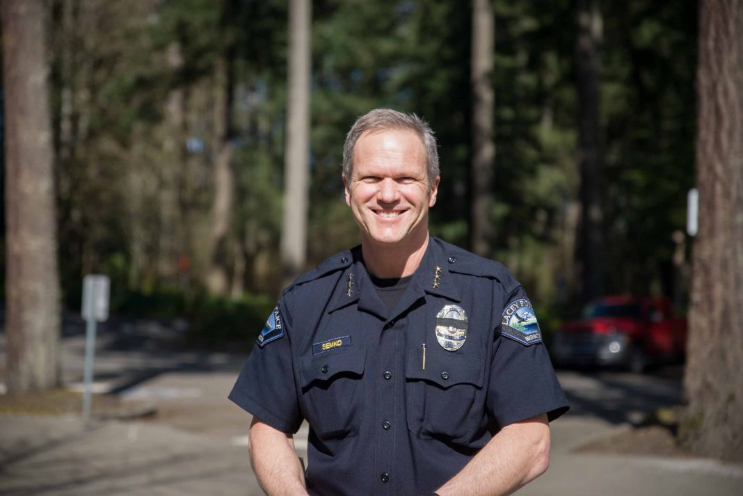 Ken Semko City of Lacey Police Chief