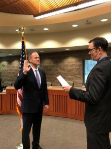 Ken Semko Swearing In Lacey Police Department Police Chief