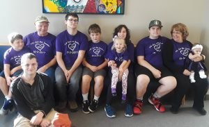 Laura Roberts family at Aliyahs adoption