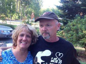 Laura Roberts with David Roberts