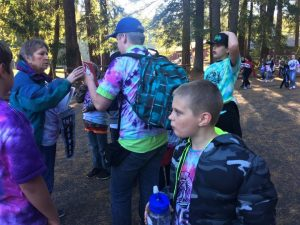 Mrs Humble Cispus Outdoor Camp