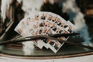 Oly Events Wedding photobooth photos on display