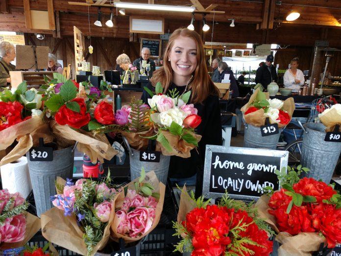 Olympia Farmers Market Kate Goodwin Katie's Cuts