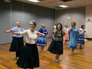 Olympia Parks Arts and Recreation hula classes