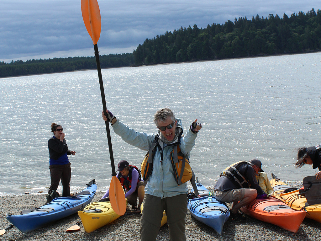 Olympia Parks Arts and Recreation kayak