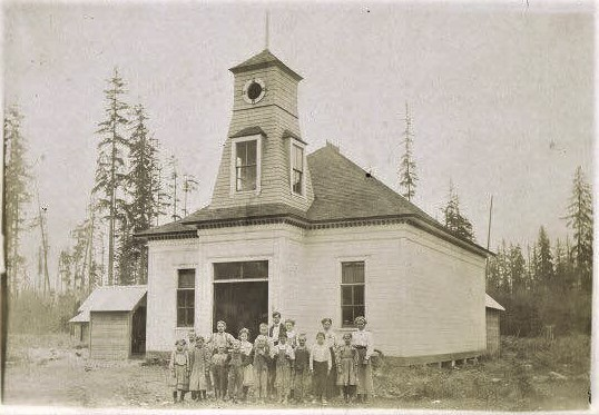 Original Ticknor School Skookumchuck Valley
