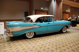 Quinault Beach Resort Casino high rollin hot rods blue car