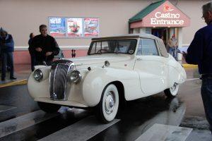 Quinault Beach Resort Casino high rollin hot rods white car