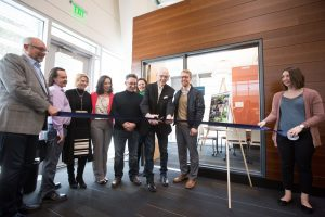 SPSCC Foundation Bill Funk Marilyn Zuckerman Study Room Ribbon Cutting