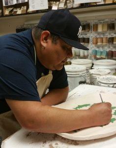SPSCC Visiting Artist Joseph Seymour ceramics