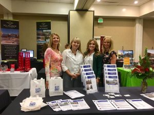 The Rants Group employees at Real Estate Forum event