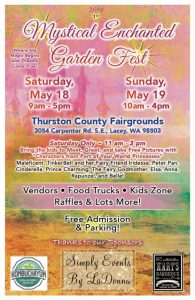 2019 1st Mystical Enchanted Garden Fest @ Thurston County Fairgrounds