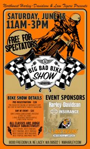 22nd Big Bad Bike Show @ Northwest Harley-Davidson