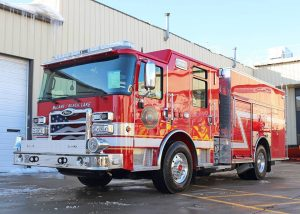 Child Care Action Council Swim into Summer Fire Engine