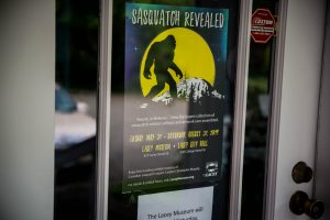 City of Lacey Lacey Museum Sasquatch Revealed Poster