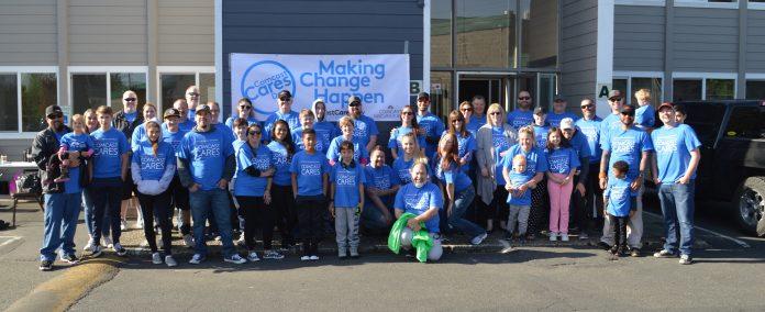 Comcast Cares Day Full Crew
