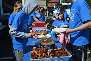 Comcast Cares Day Lunch BBQ