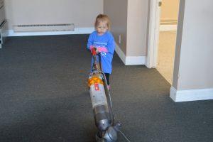Comcast Cares Day Vacuumer