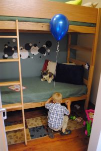 FSCSS boy at bunk bed