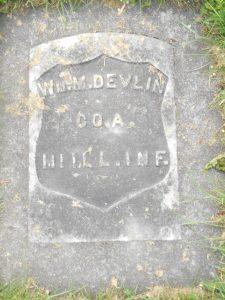 GAR gravestone
