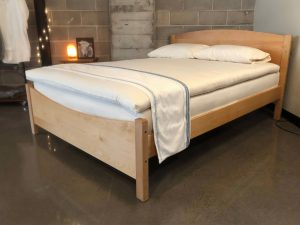 Holy Lamb Organics signature wool latex mattress topper