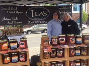 Ilas Foods outdoor display