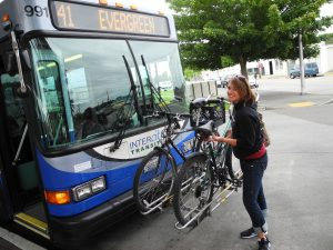 Intercity Transit Youth Bus Pass Destination Summer Bike Rack