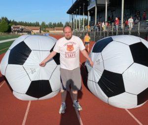 Lacey Pocket Gophers soccer balls