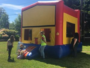 Lacey Rotary Duck Dash 2019 Thurston County Fairgrounds Bouncing Castles