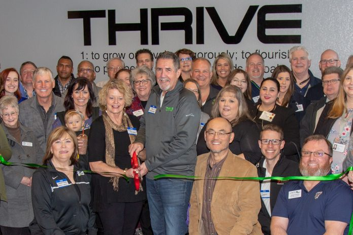 Lacey South Sound Chamber Grand Openings Thrive Nutrition Ribbon Cutting
