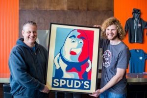 Matchless Brewing Spuds Produce Market Spudman IPA-New Can Design