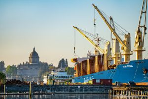 Port of Olympia Vision 2050 ships
