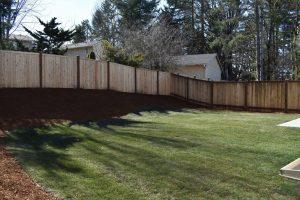 Rob Rice Homes Steilacoom Ridge fenced yard