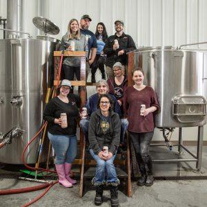 SPSCC Brewing and Distilling Program Clipper Crawl Women in the Program