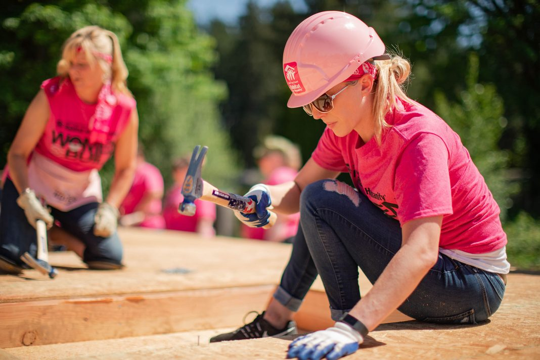 South Puget Sound HABITAT FOR HUMANITY WOMEN BUILD 2019 Hard Hat