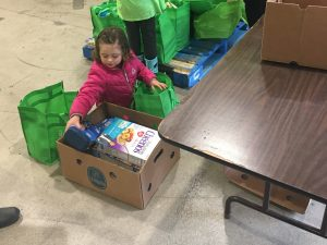 Thurston County Food Project Young Helpers