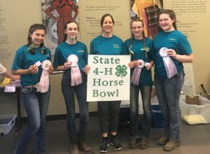 Thurston County Horse Bowl Team Res Champions 2019 2