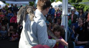 Timberland Regional Library Summer Program Mr Lizard Show a