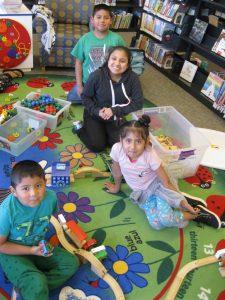 Timberland Regional Library Summer Program Siblings at Play