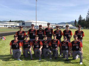 Rainier High School state baseball team
