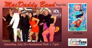 Lacey in Tune Music and Movies: MacDaddy Band & Ralph Breaks the Internet @ Huntamer Park